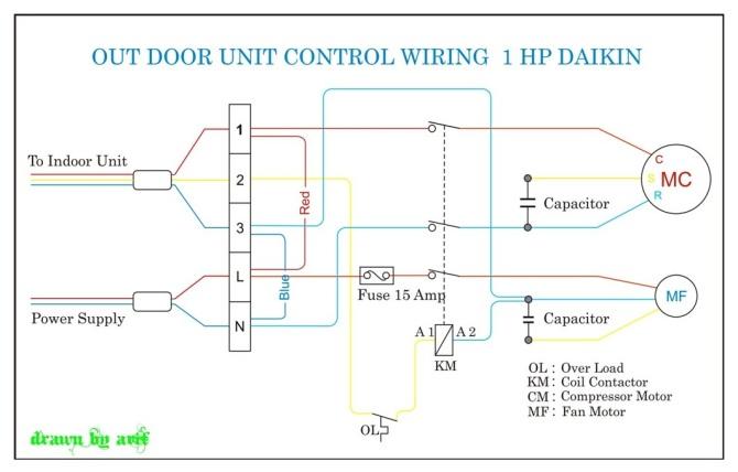 daikin aircon wiring diagram  basic guide wiring diagram •