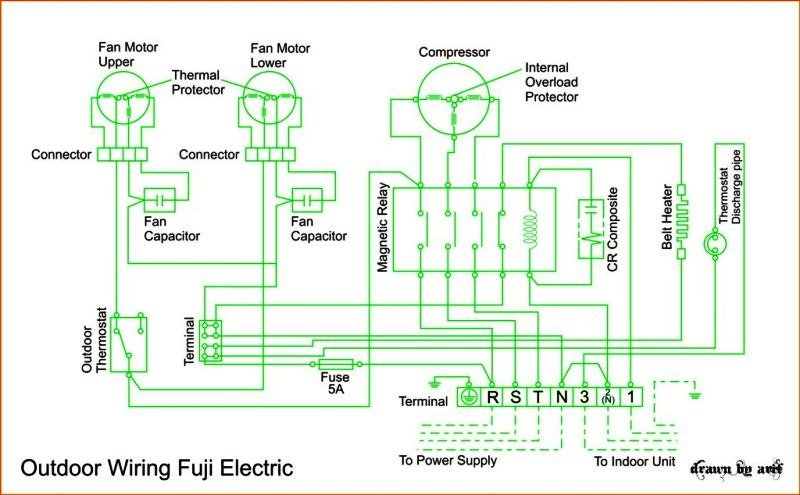 wiring diagram ac cassette fuji electric refrigeration \u0026 airwiring diagram ac cassette fuji electric fuji electric wiring