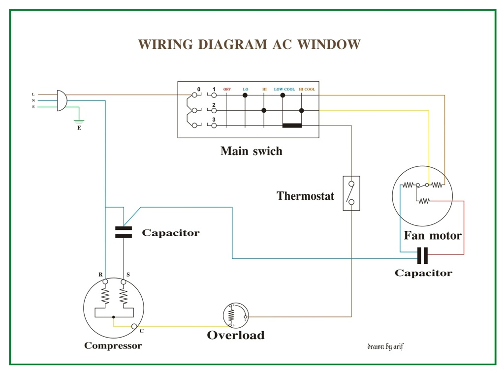 residential air conditioning wiring diagram wirdig split ac unit wiring diagram on daikin split unit wiring diagram